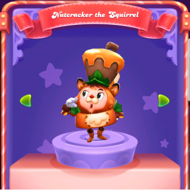 Nutcracker the Squirrel